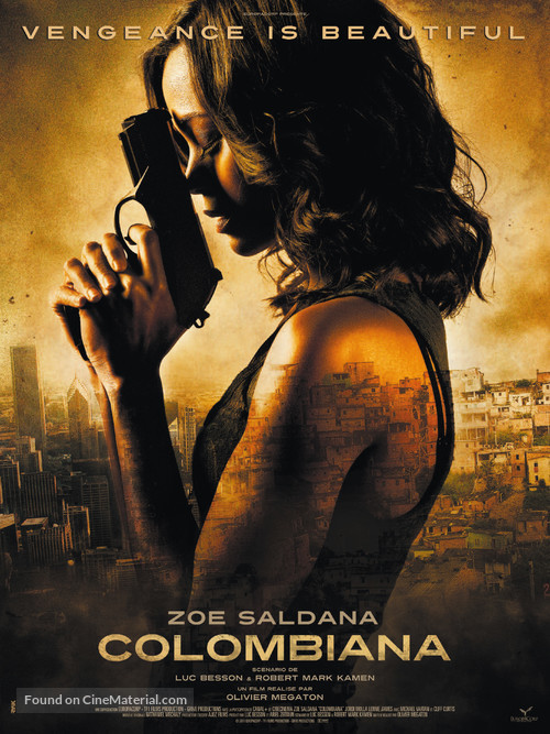 Colombiana - French Movie Poster