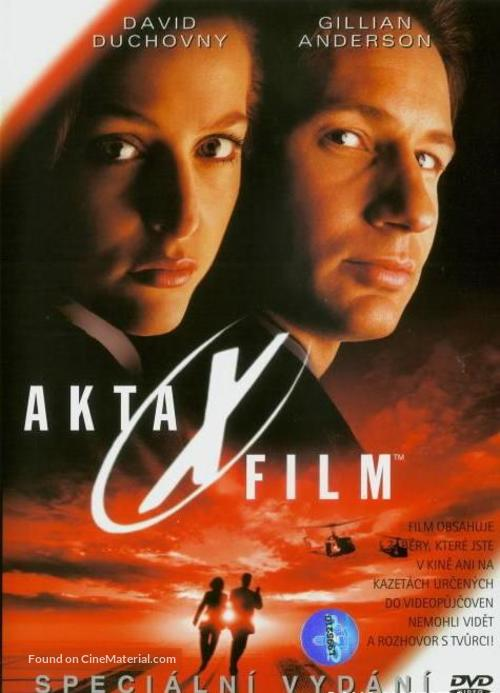 The X Files - Czech DVD movie cover