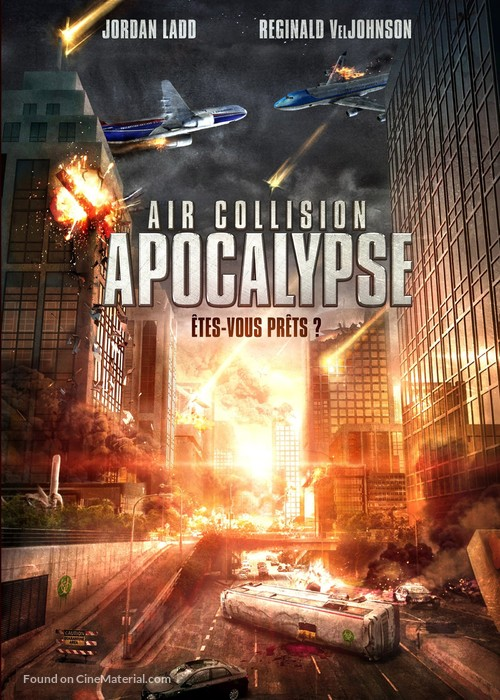 Air Collision - French DVD movie cover