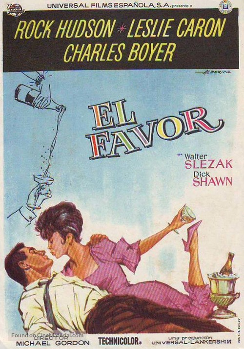 A Very Special Favor - Spanish Movie Poster
