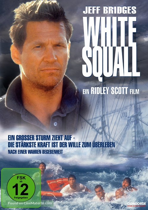 White Squall - German Movie Cover