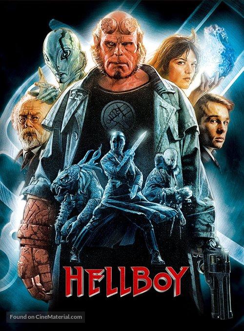 Hellboy - Japanese DVD movie cover
