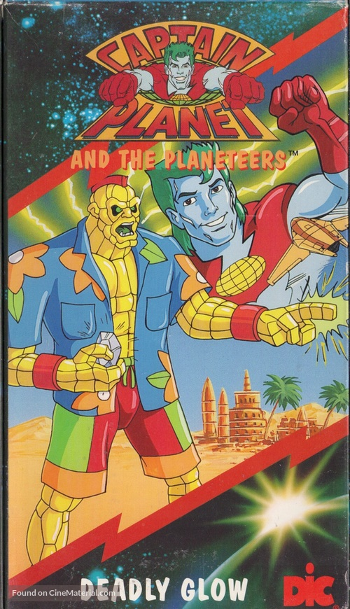 """""""Captain Planet and the Planeteers"""" - Movie Cover"""
