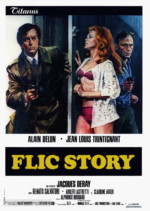 Flic Story - Italian Movie Poster