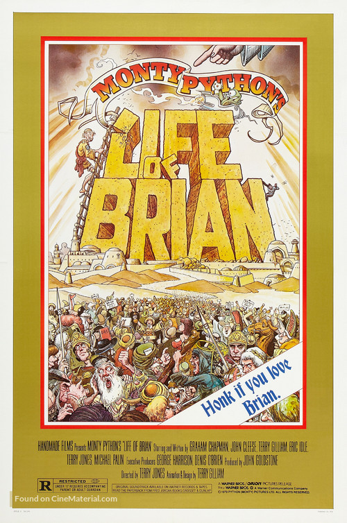 Life Of Brian - Theatrical movie poster
