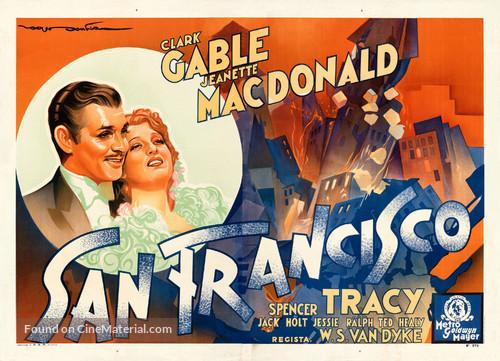 San Francisco - Italian Movie Poster