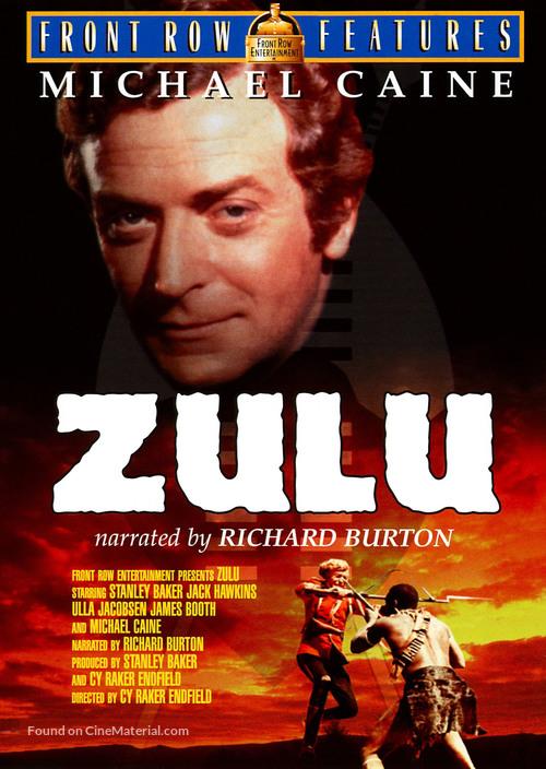 Zulu - DVD movie cover