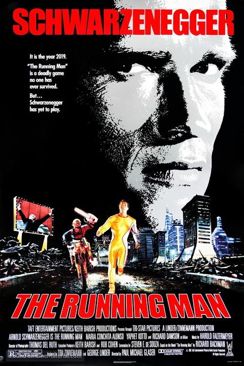 The movie the running man