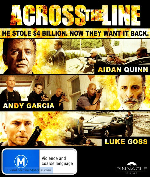 Across the Line: The Exodus of Charlie Wright - Australian Blu-Ray movie cover