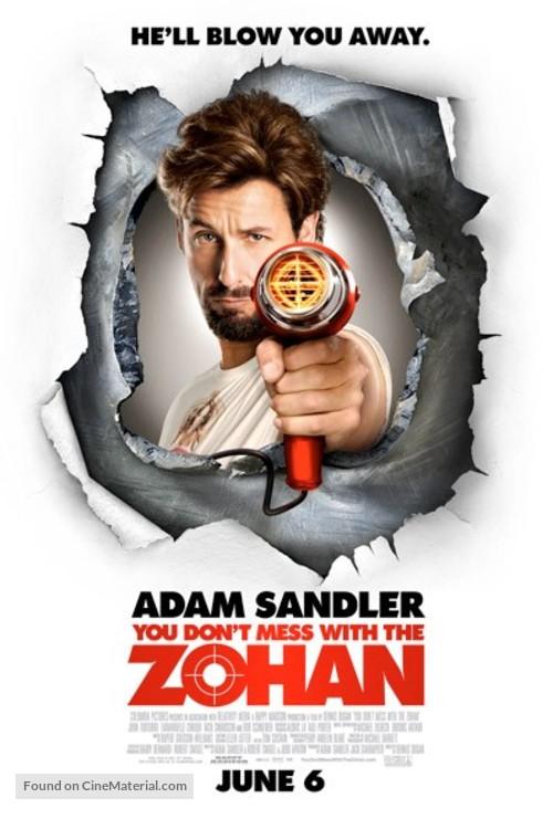 Risultati immagini per YOU DON'T MESS WITH THE ZOHAN ( 2008 ) POSTER