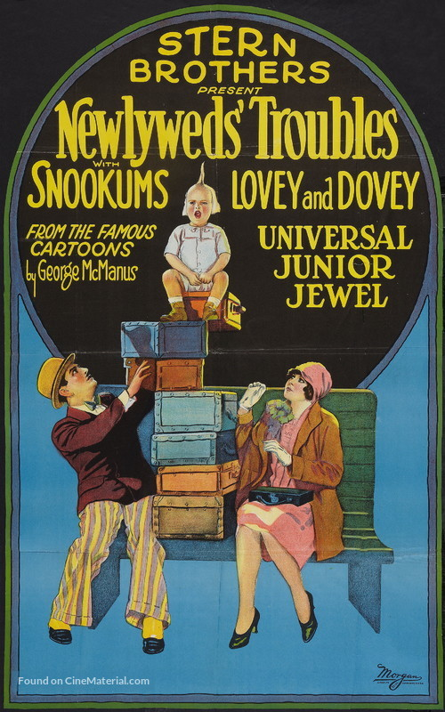 The Newlyweds' Troubles - Movie Poster