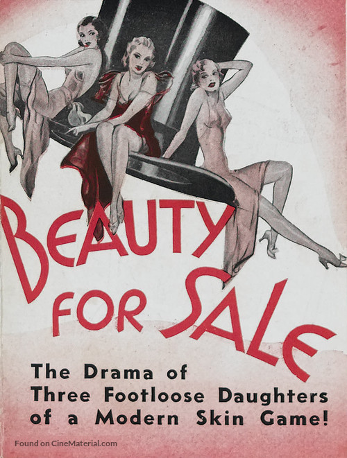 Beauty for Sale - poster
