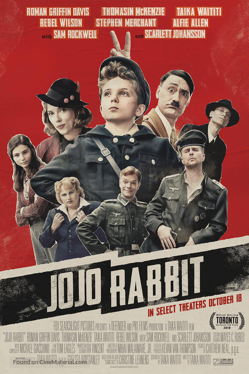 Jojo Rabbit - Movie Poster