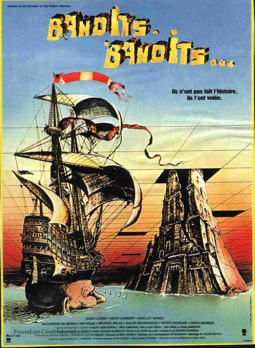 Time Bandits - French Movie Poster