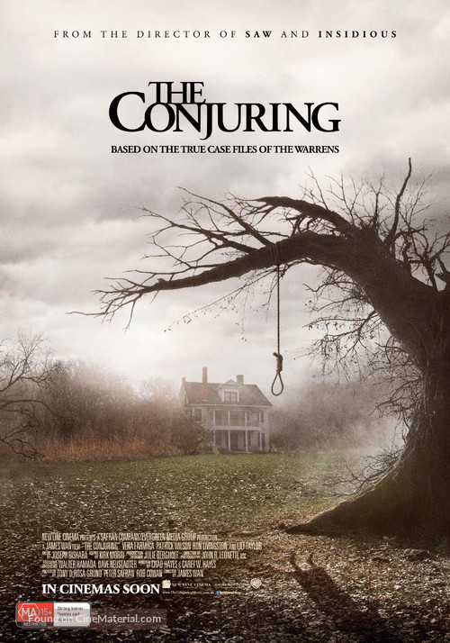 The Conjuring - Australian Movie Poster