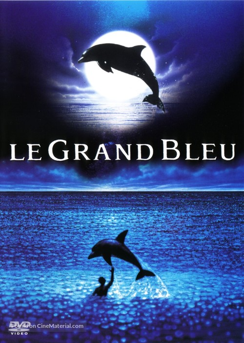 Le grand bleu - French Movie Cover