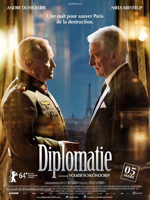 Diplomatie - French Movie Poster