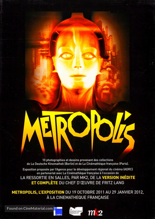 Metropolis - French Re-release movie poster