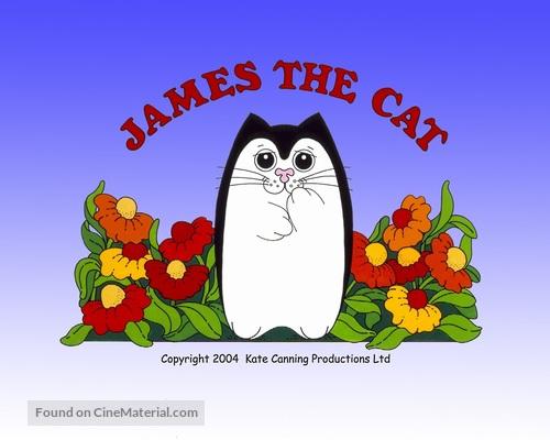 """James the Cat"" - British Movie Poster"