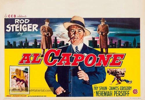 Al Capone - Belgian Movie Poster