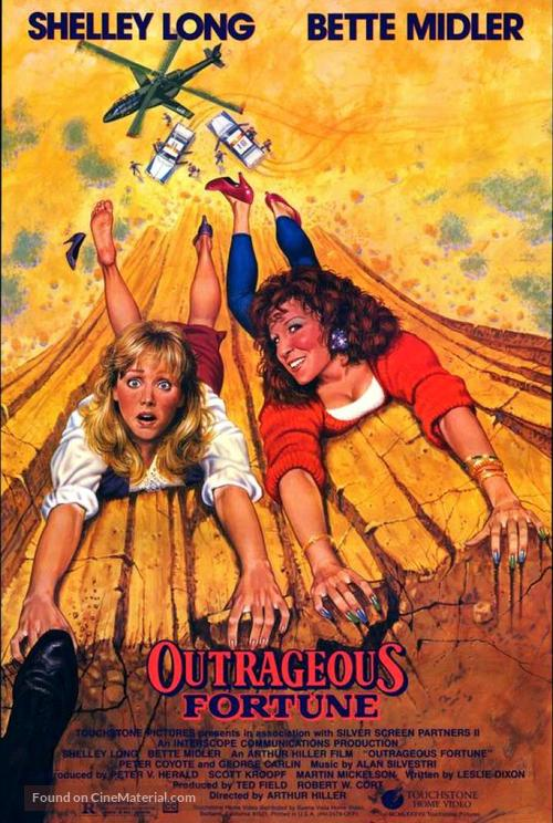 Outrageous Fortune - Movie Cover
