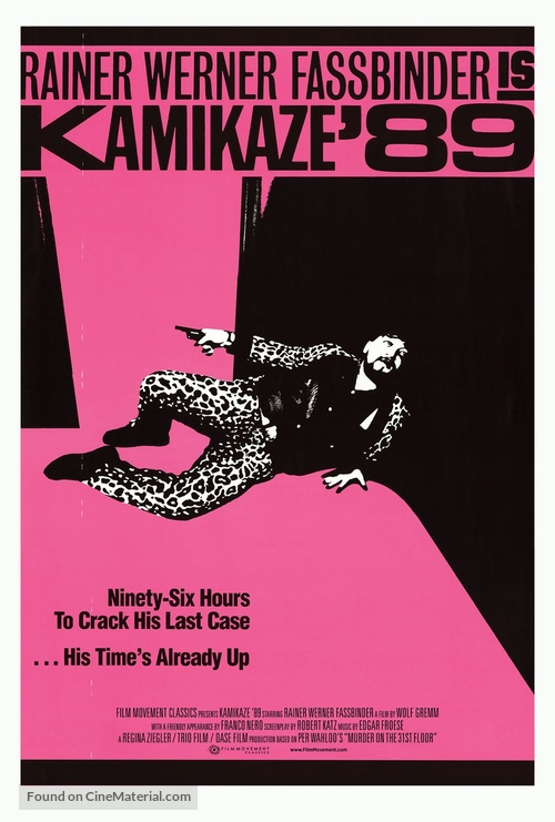 Kamikaze 1989 - Movie Poster