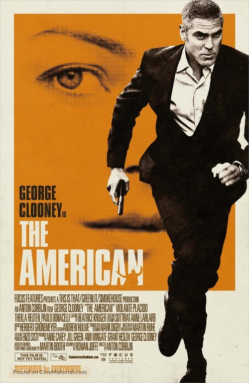 The American - Movie Poster