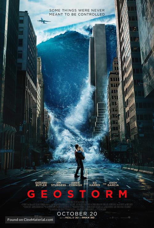 Geostorm - Movie Poster