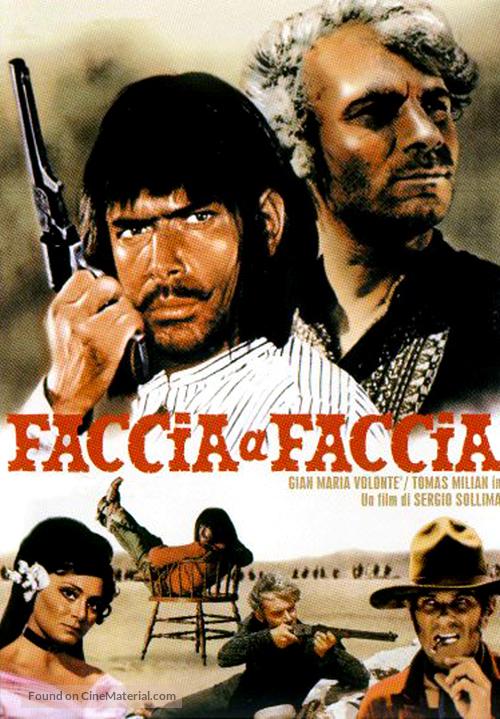 Faccia a faccia - Italian Movie Poster