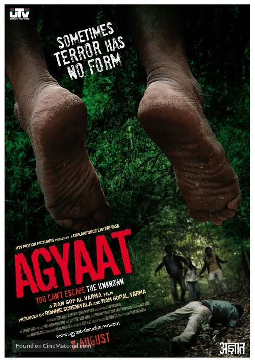 Agyaat - Indian Movie Poster