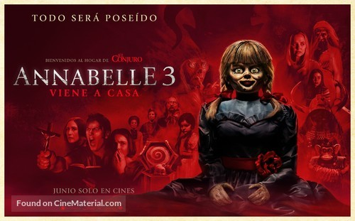 Annabelle Comes Home - Argentinian Movie Poster