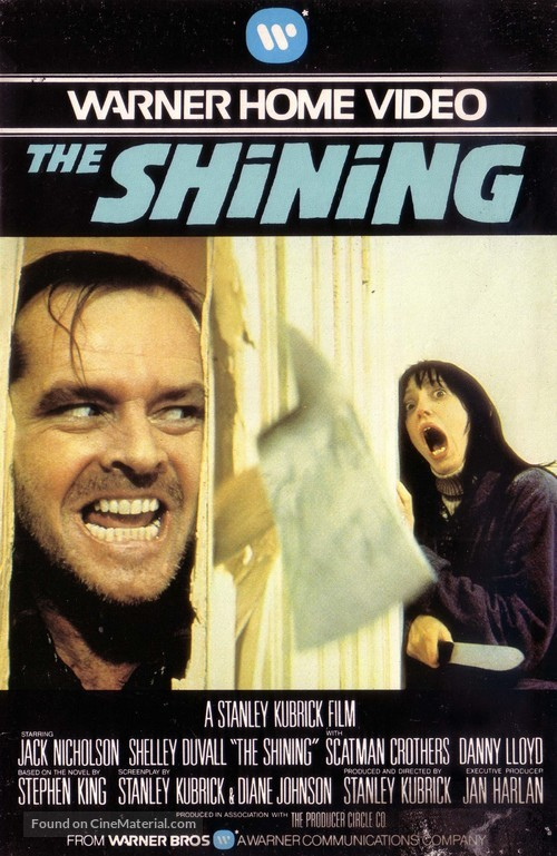 The Shining - German VHS movie cover