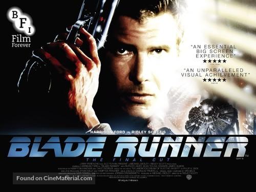 Blade Runner - British Re-release movie poster
