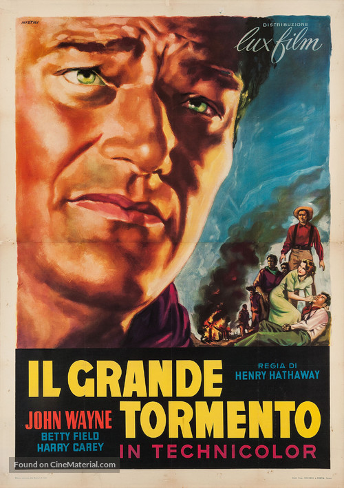 The Shepherd of the Hills - Italian Movie Poster