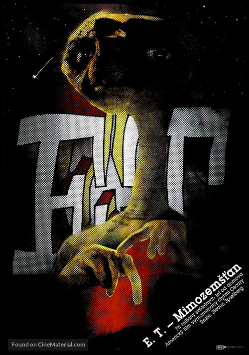 E.T.: The Extra-Terrestrial - Czech Movie Poster