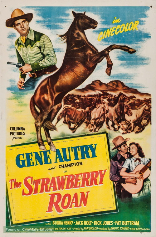 The Strawberry Roan - Movie Poster