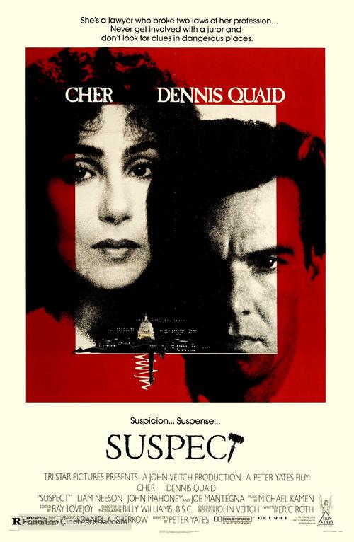 Suspect - Movie Poster