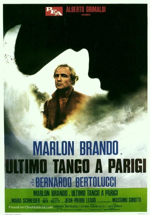 Ultimo tango a Parigi - Italian Movie Poster