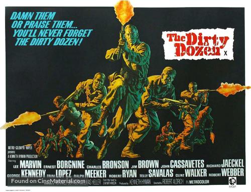 The Dirty Dozen - Movie Poster