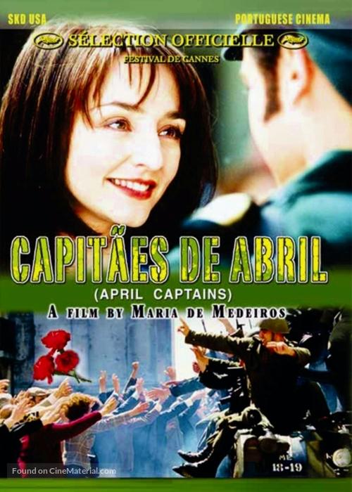 Capitães de Abril - DVD cover