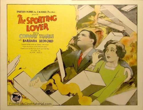 The Sporting Lover - Movie Poster