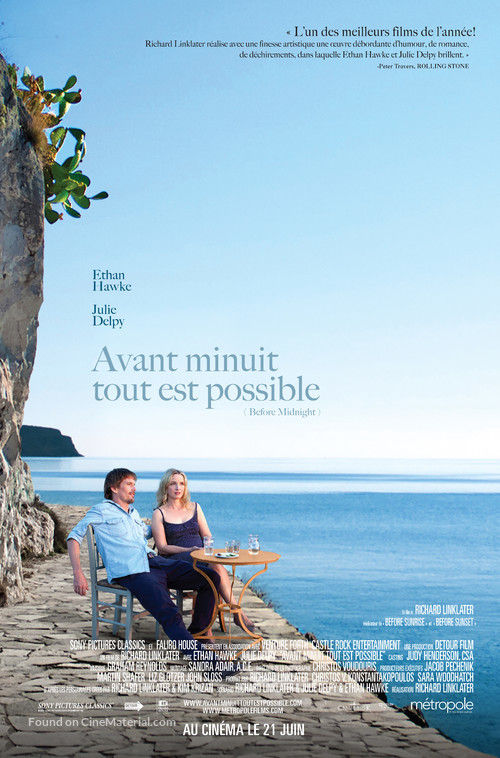 Before Midnight - Canadian Movie Poster