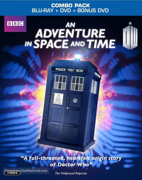 An Adventure in Space and Time - Blu-Ray movie cover