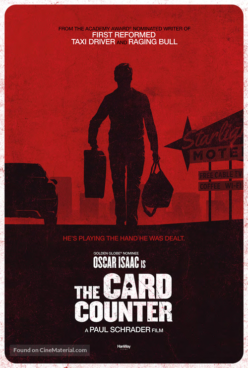 The Card Counter - Movie Poster