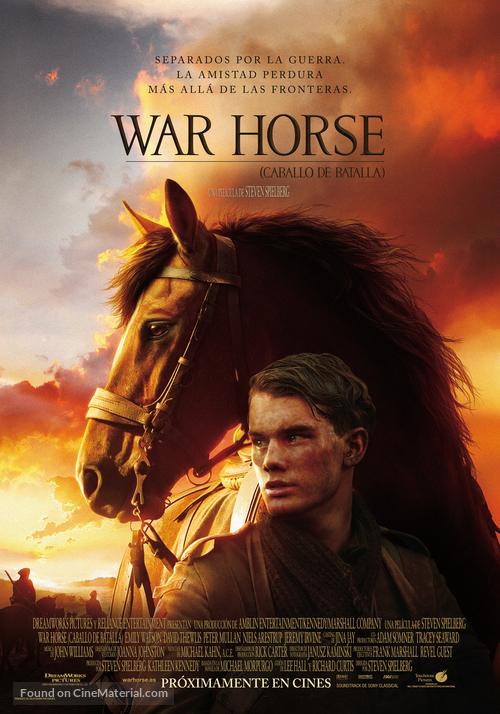War Horse - Spanish Movie Poster