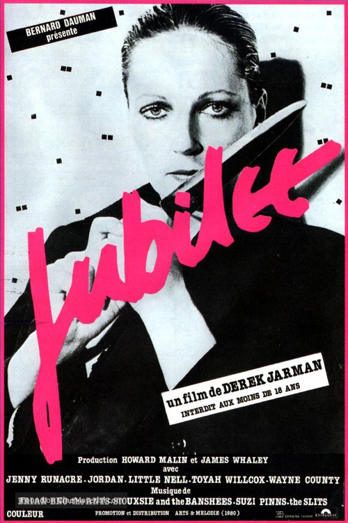 Jubilee - French Movie Poster