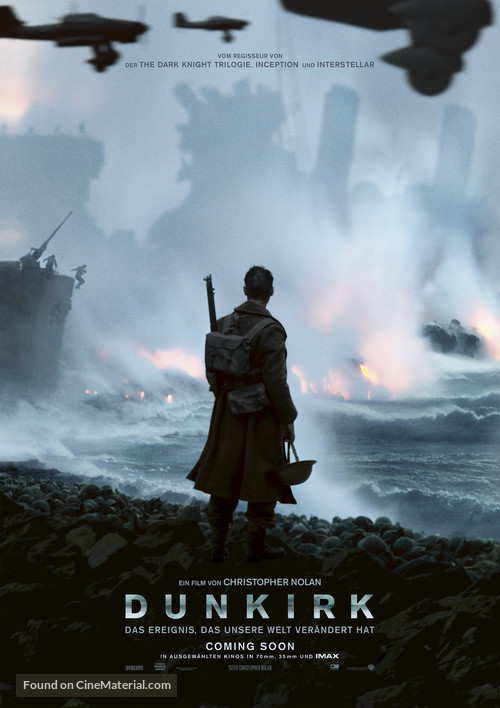 Dunkirk - German Movie Poster