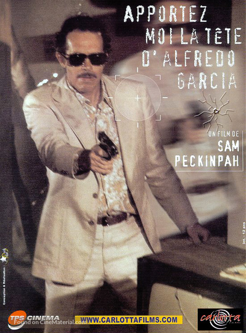 Bring Me the Head of Alfredo Garcia - French Movie Cover