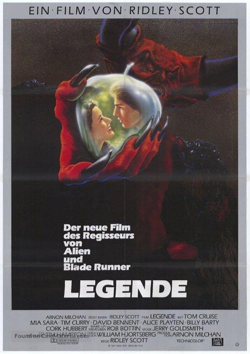 Legend - German Movie Poster