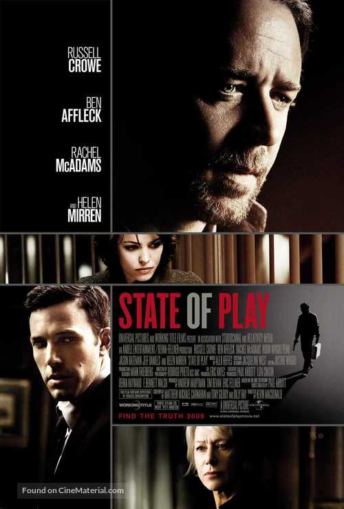 State of Play - Movie Poster